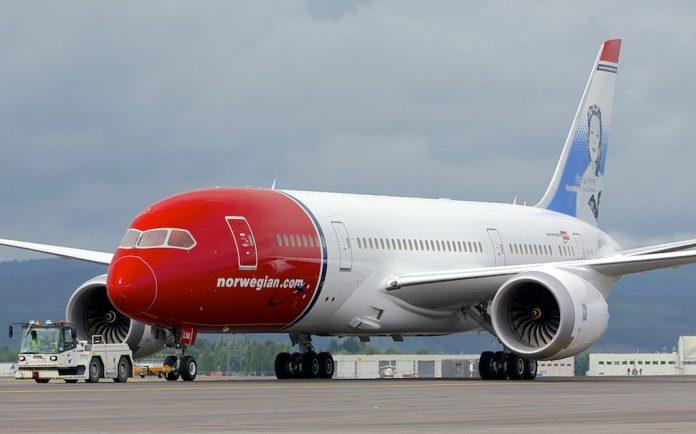 Norwegian air voli low cost