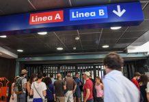 chiusura metro a roma
