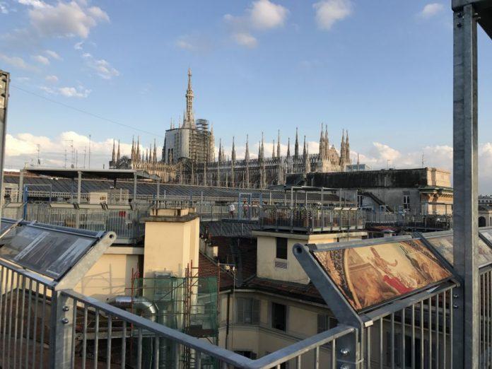tour all'alba sui tetti dell Galleria