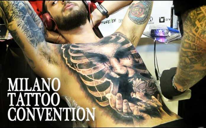 milano tatoo convention 2018