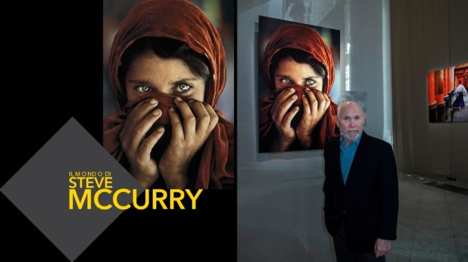 Steve McCurry milano presentazione