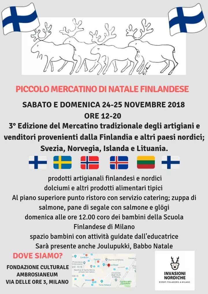 PICCOLO MERCATINO DI NATALE FINLANDESE 2018